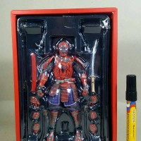 Mainan Action Figure Spiderman Samurai Manga Realozation