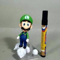 Mainan Action Figure Nendo Luigi Awan Full Artikulasi Detail Bagus