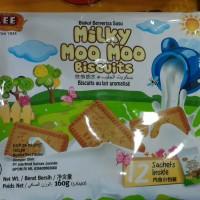 Lee Milky Moo moo biscuits Biskuit rasa susu 12s Halal