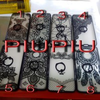 Case Fuze Ring Black Tribal Samsung S4,S5, Note 4,S7 Edge,Grand Neo,Z2