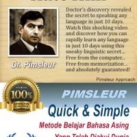 Kuasai Bahasa Inggris dalam 10 Hari dengan Pimsleur Approach Audio mp3