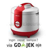 PHILIPS Rice Cooker 3in1 HD 3118/31 - Merah