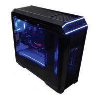 Infinity Case Predator + LED Fan (2 Pcs) + LED Stripe