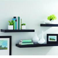 Jual Floating Shelves terdiri 3 buah 60,40,20 lebar 12cm tebal 4cm Murah