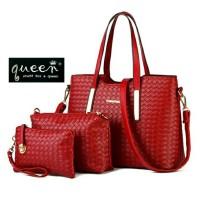 Jual promo imlek tas wanita murah beli 1dapat3 3in1 Murah