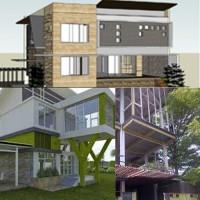 Perhitungan struktur dan pondasi rumah tinggal atau ruko