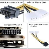 Kabel power VGA Card to Power supply
