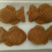1 Paket: 20 pc. Waffle Ikan Kecil (Fish Waffle, Taiyaki, Bungeoppang)
