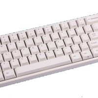 Mechanical Keyboard Leopold FC660M White PBT Keycaps (Red Cherry MX)