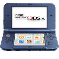 NEW NINTENDO 3DS XL CONSOLE METALLIC BLUE