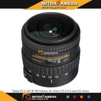 Tokina AT-X 107 AF DX NH Fisheye 10-17mm f/3.5-4.5 Lens for Nikon