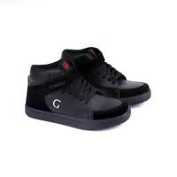 Sepatu Anak Sekolah Kets Hitam GARUCCI GDA9003