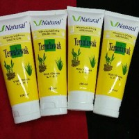 PEELING GEL SCRUB TEMULAWAK SERUM GEL EXFOLIATING TEMULAWAK V NATURAL