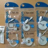 Vivan Cable Pro Sebagai Kabel Data (Sync) Dan Charger CM-30