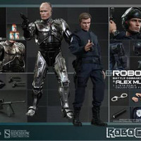 Hot Toys Robocop & Alex Murphy Set
