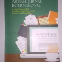 Buku: Bahasa Inggris untuk Penulisan Artikel Jurnal Internasional