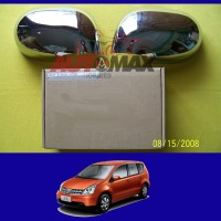 harga Cover Mirror / Cover Spion Chrome Livina / Grand Livina Tanpa Lampu Tokopedia.com