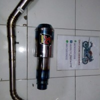 Akrapovic Gp Lorenzo Blue Cbr facelift Dan All New Cb150r