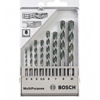 Mata Bor Multipurpose 8pcs Set Bosch