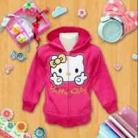 harga Jaket Anak Perempuan Hello Kitty Size Besar 8 9 10 Tahun Tokopedia.com