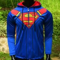 Jaket Hoodie Super Man