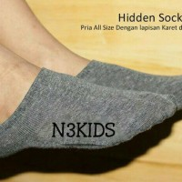 Jual Hidden socks premium - invisible socks premium - casual - pendek Murah