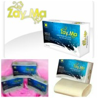 Sabun ZAYMA Susu & Zaitun, Milk Beauty Soap, Sabun Kecantikan Natural