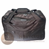 Tas Jinjing Navy Club 2028 Travel Bag Series - Brown