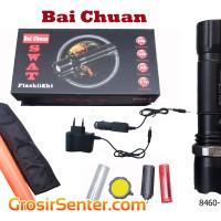 harga Senter Swat Police (bai Chuan Led Cree) Tombol Karet +1 Cone Lalin-..- Tokopedia.com
