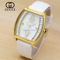 Jam Tangan Wanita / Cewek Gucci G060 White