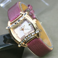 Jam Tangan Wanita / Cewek Gucci G061 Purple