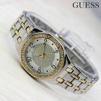 Jam Tangan Guess Gs0154 Combi Gold