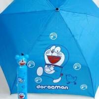 Jual payung botol kepala karakter doraemon Murah