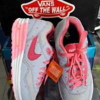 sepatu sport nike air max lokal kw pink