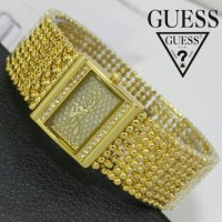 Jam TAngan Guess Merica Pearl Mini Jtr 584 Gold