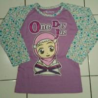 Kaos Anak Muslim Zahra One day One juz