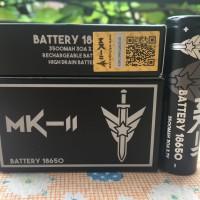 MK-II Battery / Baterai 18650 3500Mah 30A Authentic.