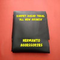 Karpet dasar tebal/peredam hitam all new avanza