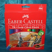 Faber Castell Classic Colour Pencils 24 (Pensil Warna)