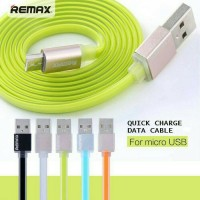 Jual Kabel REMAX PUDING Micro USB Cable Data Charger Fast Charging Original Murah