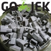 Karet Konektor UTP RJ45 /Plug Boot /Cover /Pelindung RJ 45/PLUGBOOT