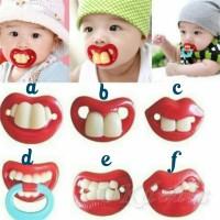 Empeng Gigi / Joyful Baby Pacifier / Empeng Unik / Dot Bayi lucu