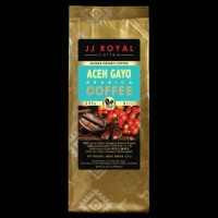 COFFEE/KOPI JJ ROYAL ACEH GAYO ARABICA BEANS 200GR