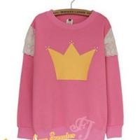 SWEATER/JAKET/HOODIE/BLAZER Princess Lace Sweater Ladies / Wanita