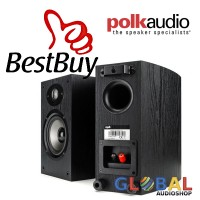 Polk Audio TSX110B Bookshelf Speaker stereo Berkualitas