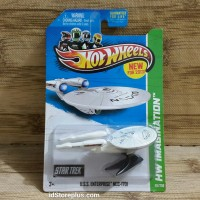 HOT WHEELS STAR TREK U.S.S. Enterprise NCC-1701 HW IMAGINATION US CARD
