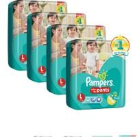 harga Pampers pants dry L.26 Tokopedia.com