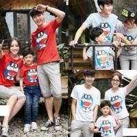 Baju Keluarga / Family Set FM Dora 100 Merah