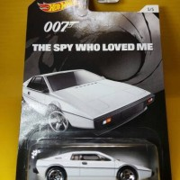 Lotus Esprit S1 ( Hot Wheels ) The Spy Who Loved Me 007 James Bond
