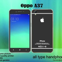 Garskin hp - Oppo A37 - Style iphone Black